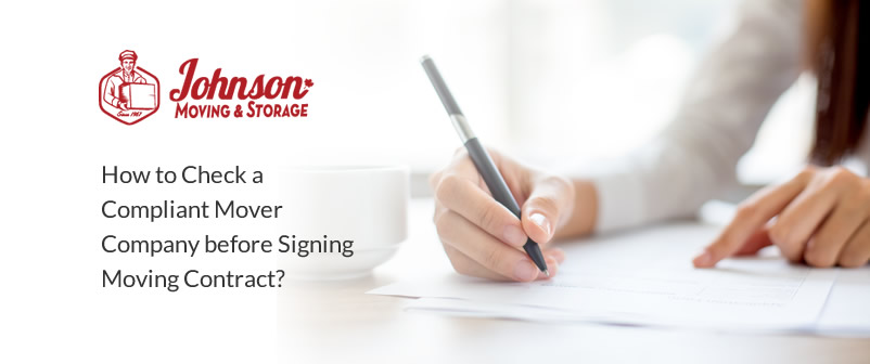 How to Check a Compliant Mover Company before Signing Moving Contract?