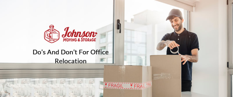 Do's and Don't for Office Relocation
