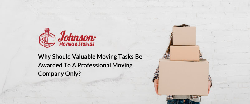 Why Should Valuable Moving tasks be Awarded to a Professional Moving Company only