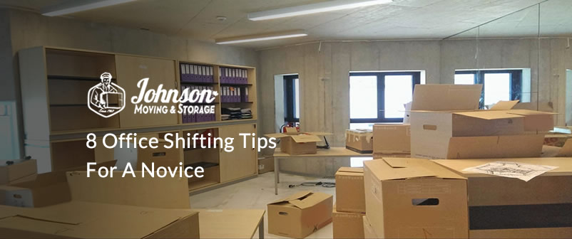 8 Office Shifting Tips for a Novice