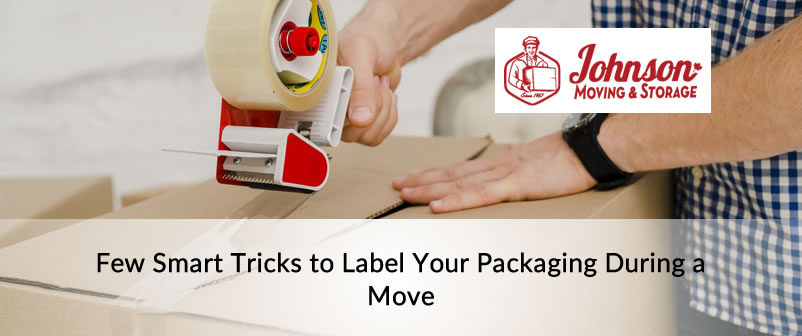 Few Smart Tricks to Label Your Packaging During a Move