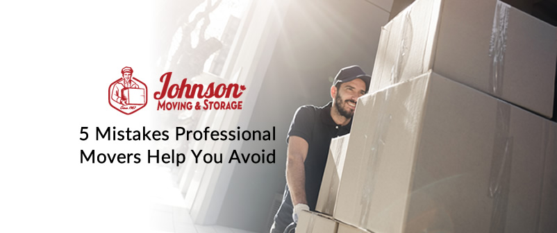 5 Mistakes Professional Movers Help you Avoid