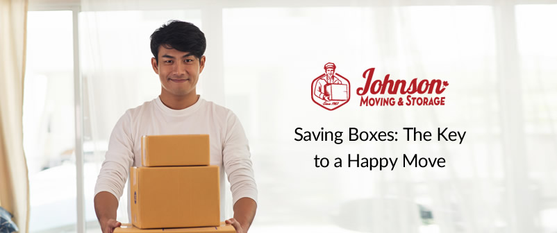 Saving Boxes: The Key to a Happy Move
