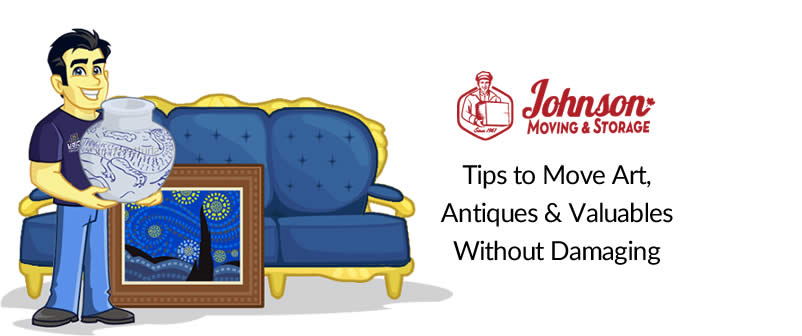 Tips to Move Art, Antiques & Valuables Without Damaging