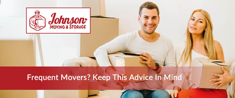Frequent Movers Keep this advice in mind