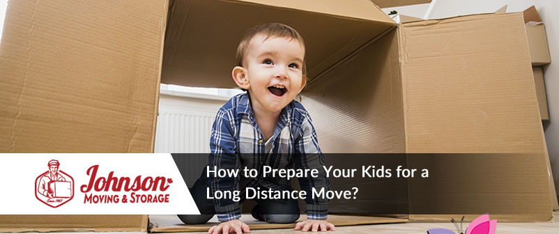 How to Prepare Your Kids for a Long Distance Move